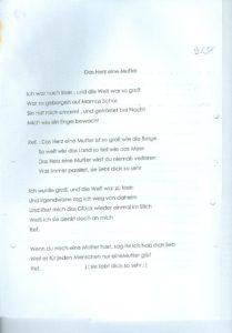 DAS HERZ EINE MUTTER
